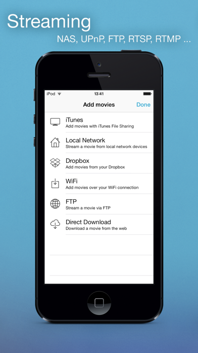Movie Player Pro II Screenshot on iOS