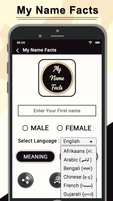 Unduh My Name Facts- My Name Meaning pada Pc