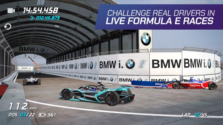 Ghost Racing: Formula E screenshot-1