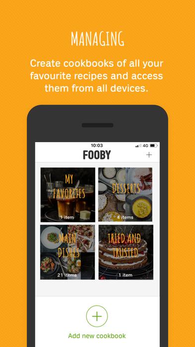 FOOBY: Recipes & More screenshot three
