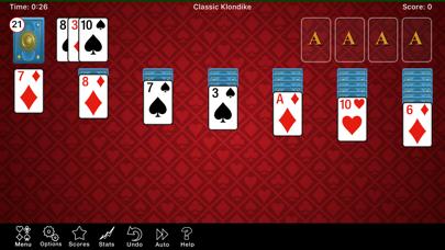 ソリティアコレクション. screenshot1