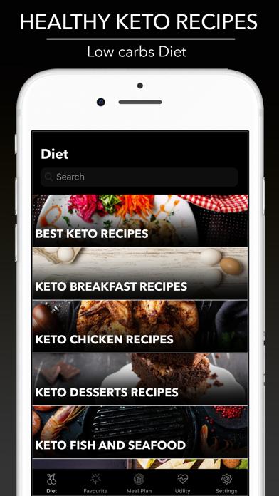 Keto-Diät - Ketogene RezepteScreenshot von 2