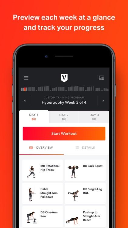 Volt: Gym & Home Workout Plans screenshot-4