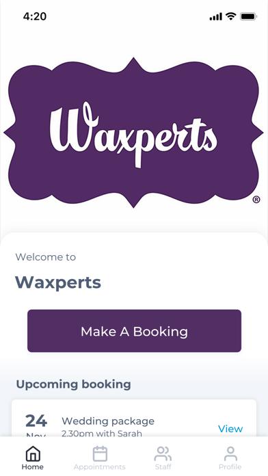 Waxperts screenshot one