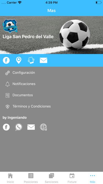Liga San Pedro del Valle screenshot 5