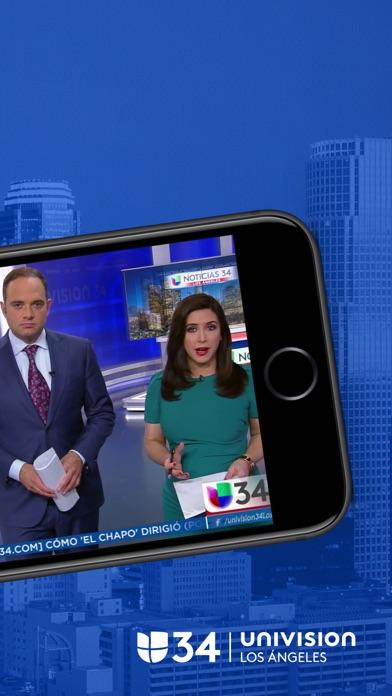 Univision 34 Los Angeles screenshot 2