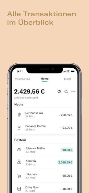 ‎N26 – Die mobile Bank Screenshot