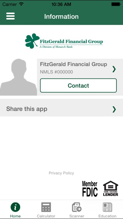 Fitzgerald Mortgage Calculator screenshot-3