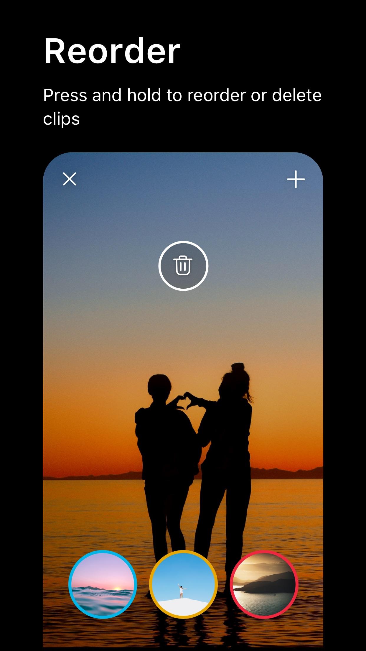 Screenshot do app Spark Camera - Video Editor