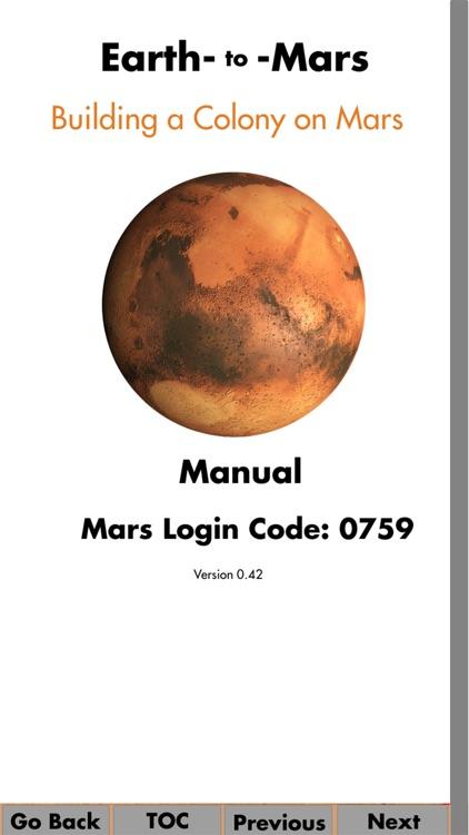 Earth To Mars Manual