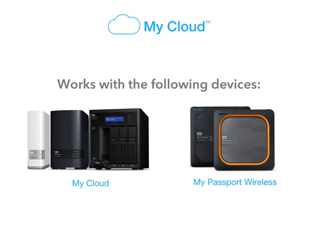 WD My Cloud on the App Store