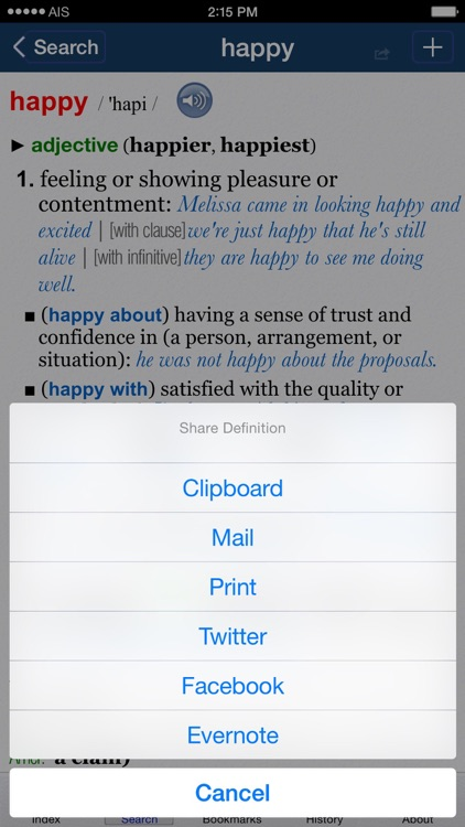 Oxford Dictionary of English. screenshot-4