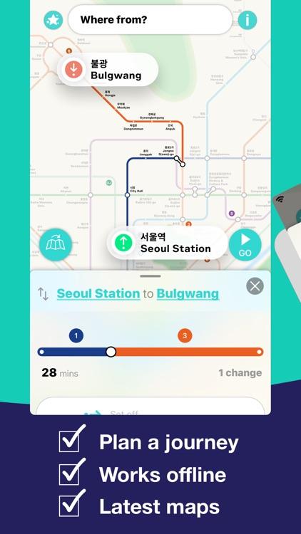 Seoul Metro Subway Map