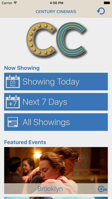 Century Cinemas screenshot one
