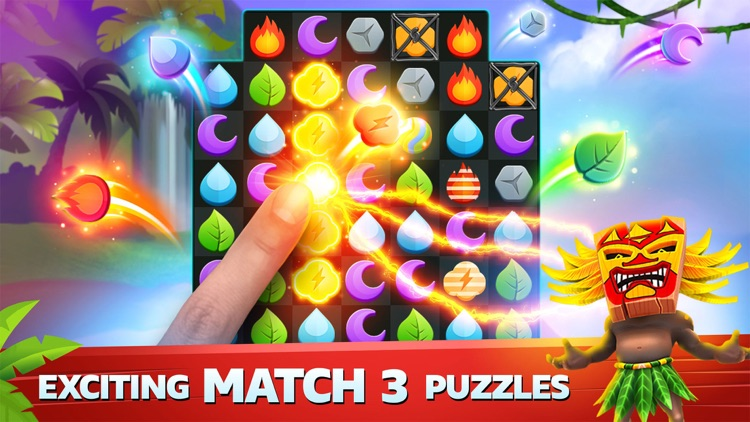 Puzzle Island: Match 3 Game screenshot-0