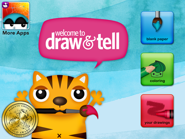 ‎Draw and Tell HD Screenshot