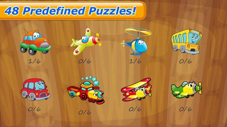 Cars Puzzle Fun Games for Kids screenshot-3