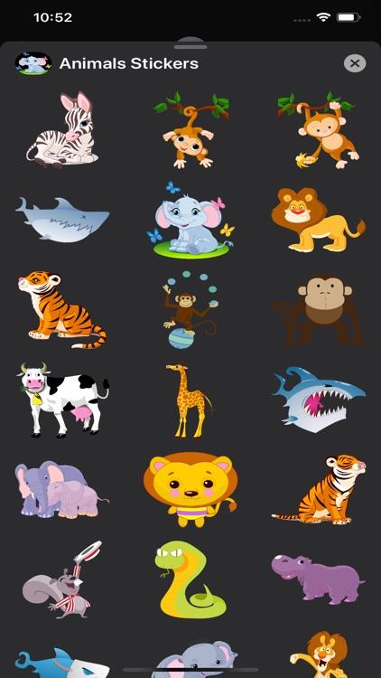 Animals Stickers & Emojis