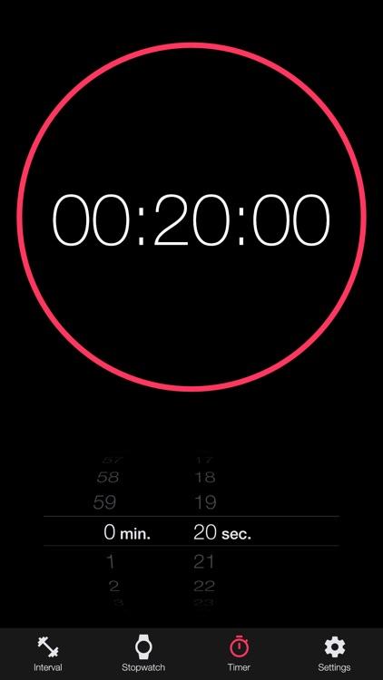 Interval tabata timer