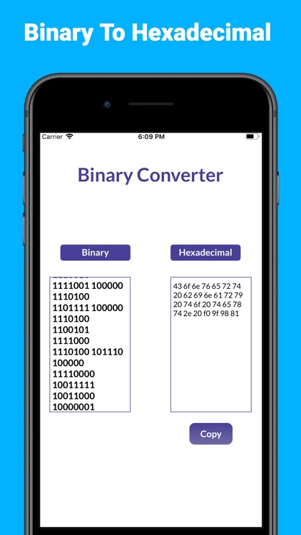 Binary Converter Calculator+