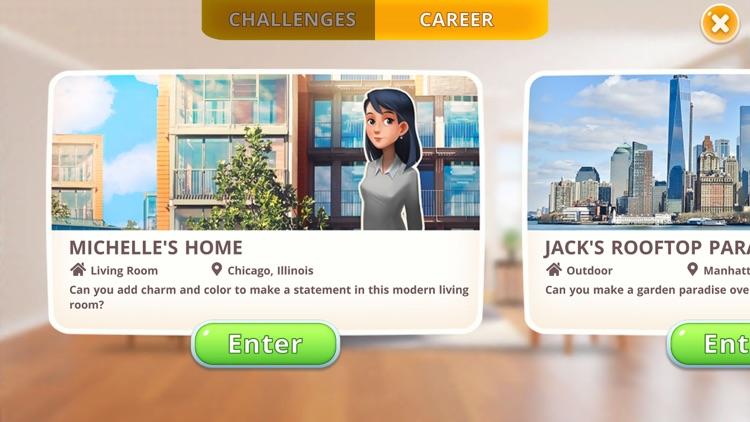 Homecraft - Home Design Game screenshot-3