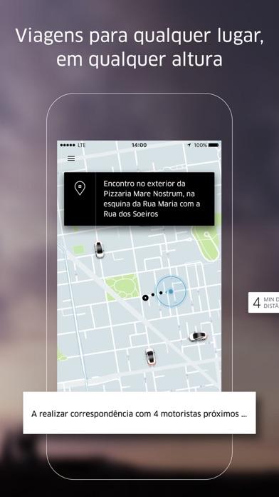 Screenshot for Uber in Portugal App Store
