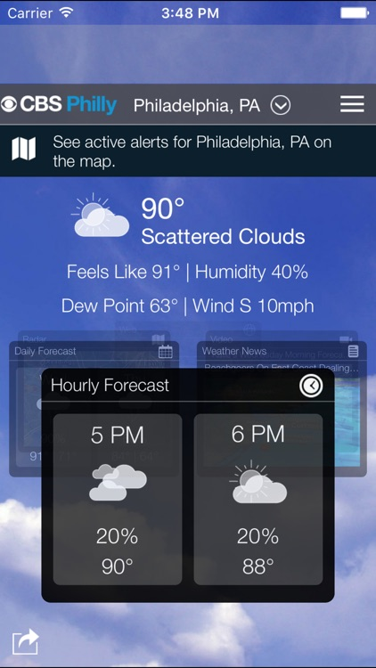 CBS Philly Weather screenshot-0