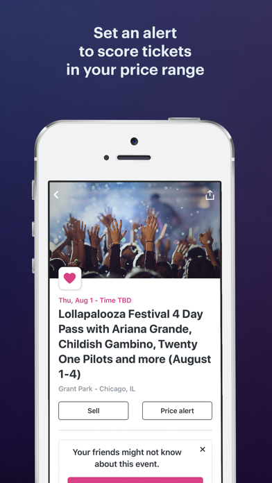 StubHub: Event Tickets by StubHub Inc  (iOS, United States