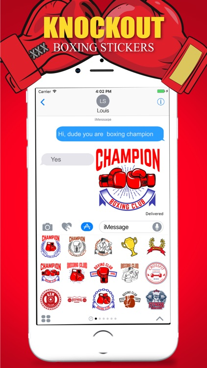 Knockout Stickers Pack screenshot-4