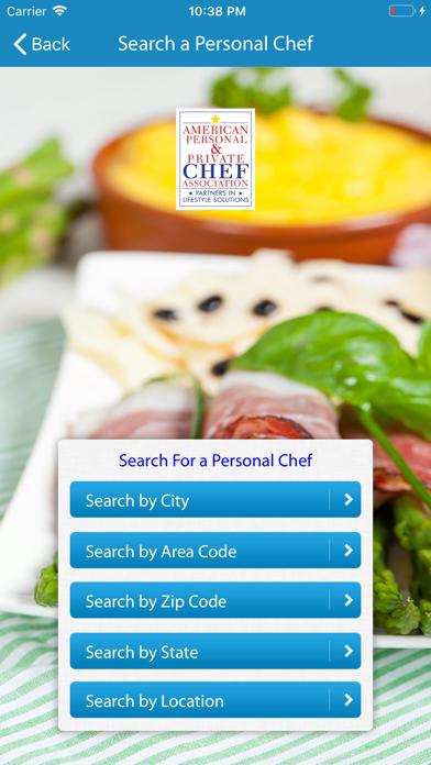 Find & Hire a Chef screenshot four