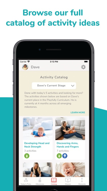 Playfully Baby Development App screenshot-3