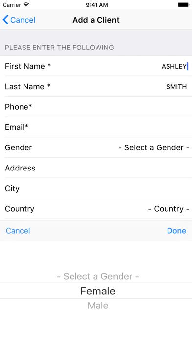 Insight Software Phone App screenshot four