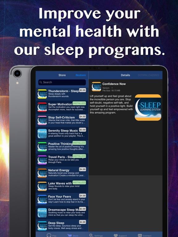 Positivity Sleep Hypnosis Screenshots