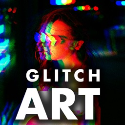 Glitch video and 90s effect.s
