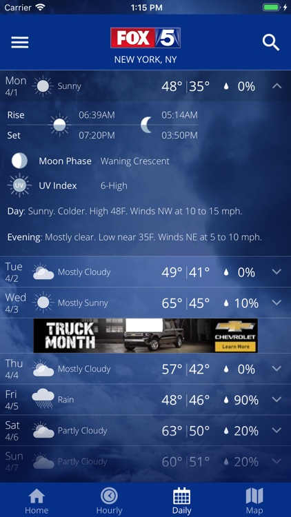FOX 5: NY Weather & Radar screenshot-4