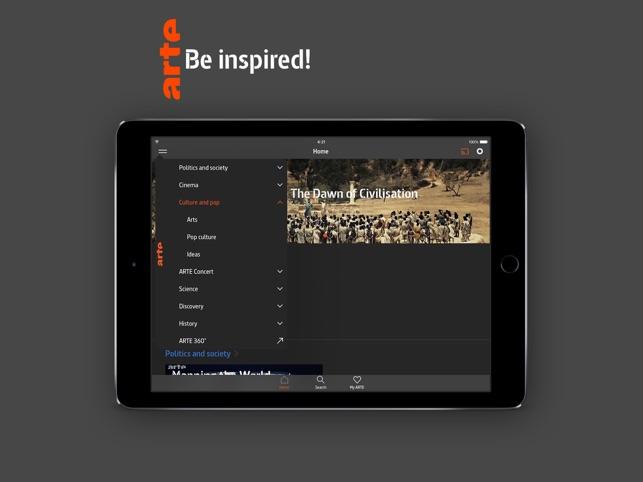 ARTE tv on the App Store