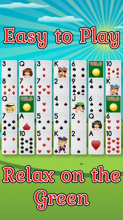 Golf Solitaire Pro! screenshot-0