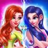 Ice VS Fire Princess Makeup