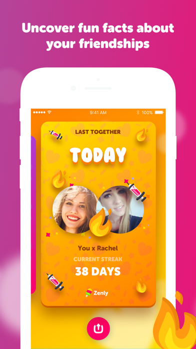 Screenshot for Zenly - Best Friends Only in Singapore App Store