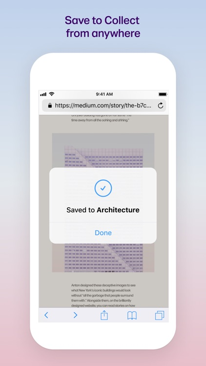 Collect: Save and share ideas screenshot-5