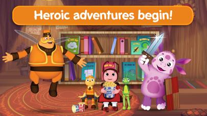 Screen Shot Moonzy: Little Heroic Tales! 0