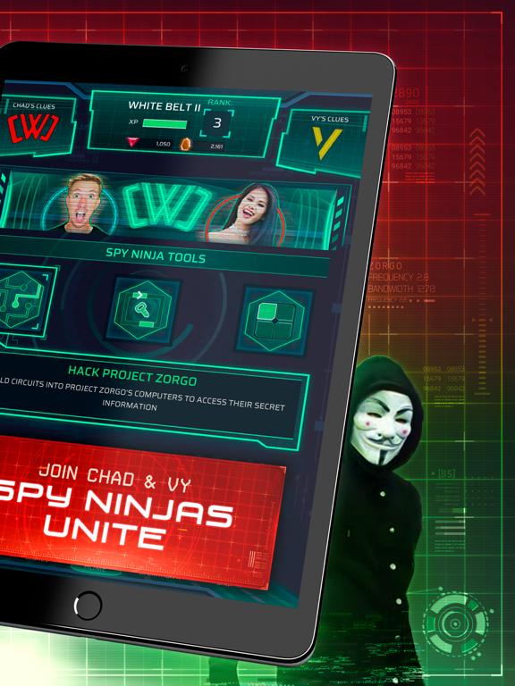 iPad Image of Spy Ninja Network - Chad & Vy