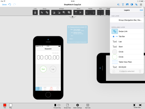 AppCooker Prototyping & Mockup Screenshots