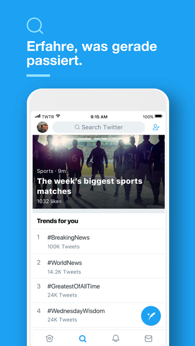 Screenshot for Twitter in Germany App Store