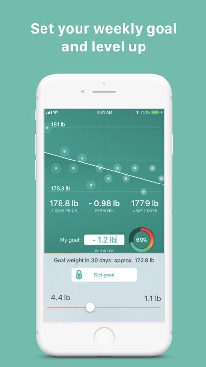 Scelta: Track my weight screenshot-4