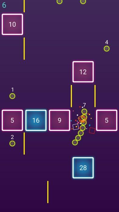 Snake Glow Dash Block screenshot 2