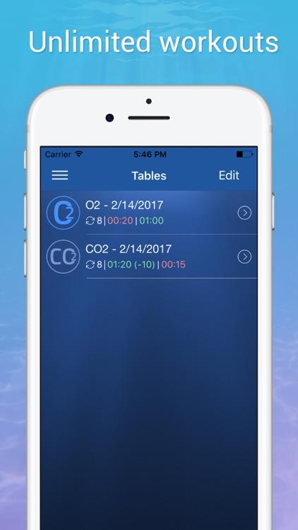 STAmina Apnea Trainer screenshot-5