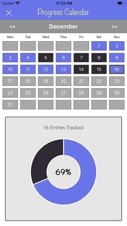New Years Resolutions Tracker