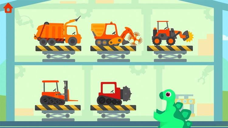 Dinosaur Garbage Truck screenshot-3