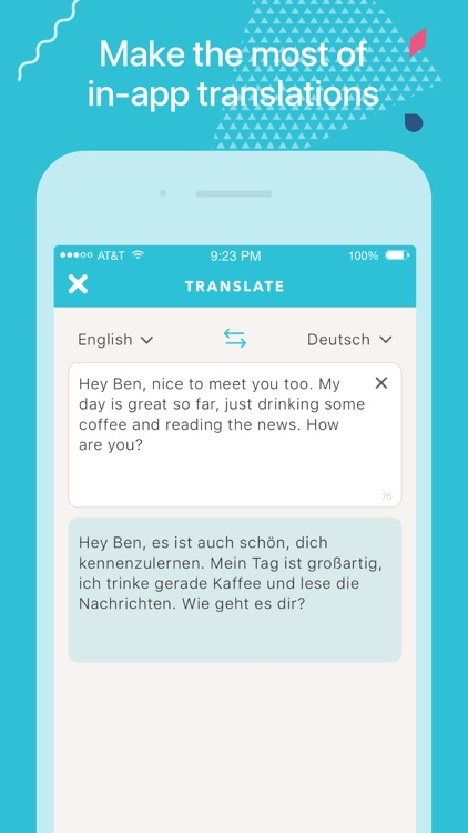 Tandem - Language Exchange screenshot-3